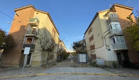 Imatge del grup d'habitatges Sant Isidori de Mollerussa.