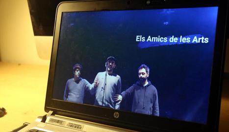 Els Amics de les Arts van participar en 'L'últim concert' des de la sala La Mirona de Salt.