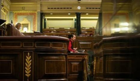 Un moment de la sessió al Congrés.