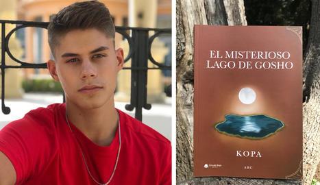 El jove autor Pau Cullà 'Kopa'.