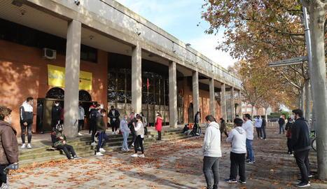 Tests PRC a alumnes el dia 9 al pavelló Onze de Setembre.