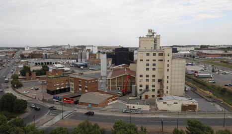 Imatge d'arxiu del polígon industrial El Segre, a la ciutat de Lleida.