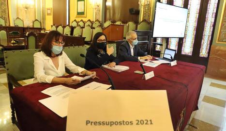 Presentació del projecte de pressupostos el passat dia 11.