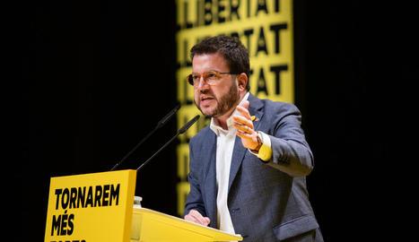 El coordinador nacional d'ERC, Pere Aragonès, serà el candidat republicà a la Generalitat.