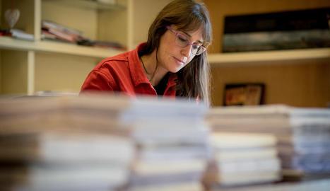 joana soto barrull. Antropòloga i periodista, des de fa cinc anys és l'editora de Pagès i Milenio.