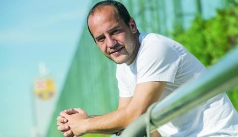 """Lluís Cortés: """"Quan les jugadores somriuen anem bé, el bon rotllo és imprescindible per guanyar"""""""