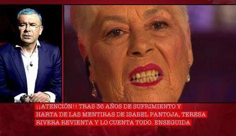Teresa Rivera, al 'Cantora 2'.