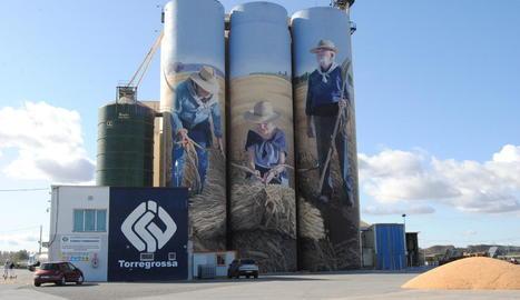 Imatge de les instal·lacions de la Cooperativa d'Ivars a Torregrossa.