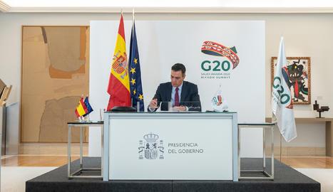 Sánchez anuncia una estratègia
