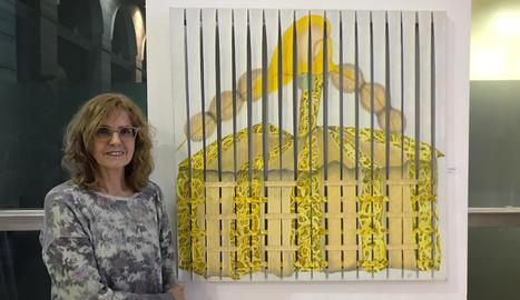 La Neus va participar en l'exposició col·lectiva Las Meninas, a la Biblioteca Pública de Lleida