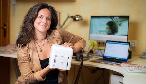 L'enginyera biomèdica de Tarragona Judit Giró, creadora de 'The Blue Box'.