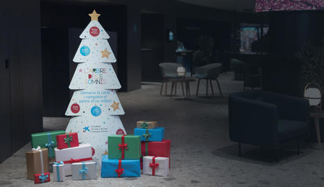 'L'arbre dels somnis' és en 60 oficines de CaixaBank de Ponent.