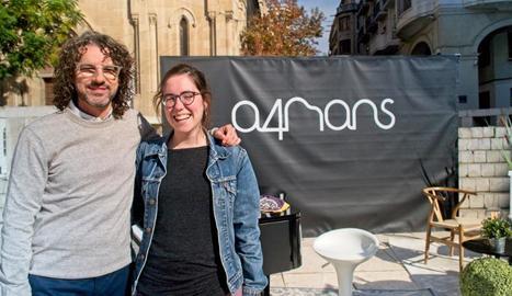 'A 4 mans' tanca a Lleida