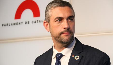 El conseller d'Acció Exterior, el lleidatà Bernat Solé.