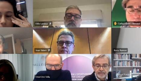 La reunió del consell general de GlobaLleida.