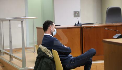 José Antonio Ortiz Cambray aquest dimecres a l'Audiència de Lleida.