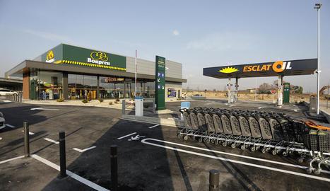 La inauguració del supermercat Bonpreu a Alpicat.