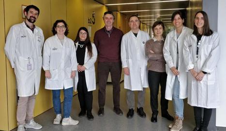 El grup d'investigació de la UdL i l'IRBLleida.