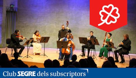 VII Ensemble, formada per membres de l'OJC, interpretarà el conegudíssim 'Septet de Beethoven'.
