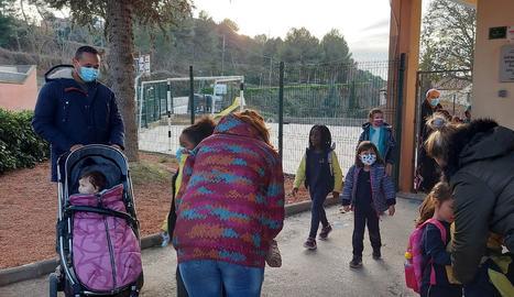 L'escola Sol Naixent de Cubells té ara 13 alumnes.