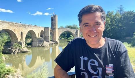 """Martí Gironell: """"Les paraules poden ajudar a crear ponts, però també contribuir a destruir-los"""""""