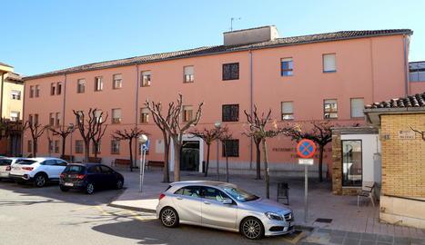 Imatge recent de la residència de la Fundació Fiella de Tremp.