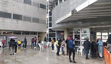Les proves es van fer ahir al Centre de Cultura d'Almacelles.