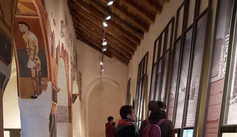 Visitants a Sant Joan de Boí, que acollirà l'acte central.