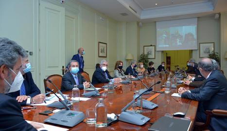 Reunió del CGPJ el mes d'octubre passat.