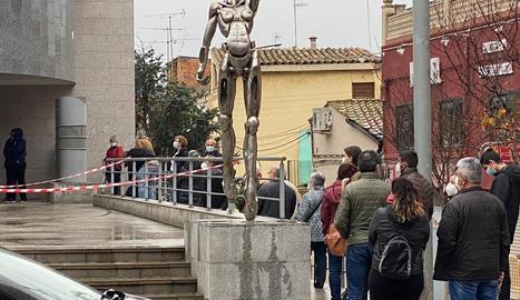 Almacelles ha realitzat un cribratge massiu al Centre de Cultura d'aquesta localitat.