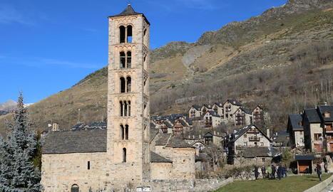 Repic de campanes a les esglésies de la Vall de Boí pels 20 anys de la declaració com a Patrimoni de la Humanitat