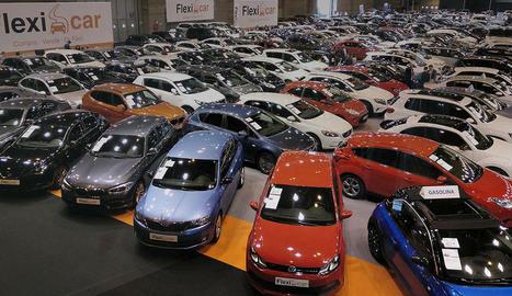 Els conductors van mantenir la seua preferència cap als models urbans i esportius, malgrat el descens de les vendes de 6,3 per cent a nivell estatal.