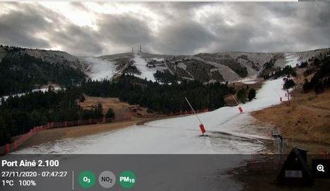 El sector espera una baixada de temperatures i neu per aquesta mateixa setmana.