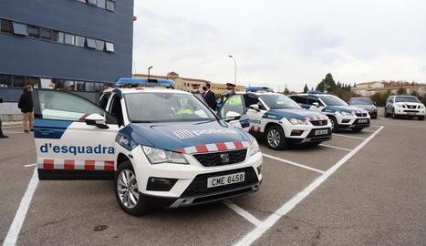 A Lleida van arribar divendres passat els primers cinc nous cotxes.