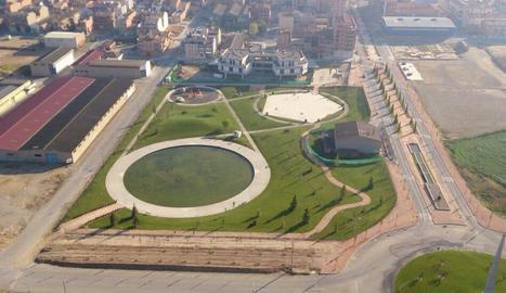 L'atac es va produir al parc d'Europa d'Almacelles.