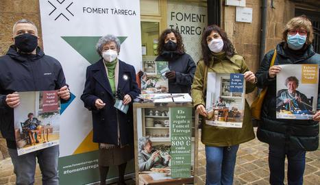 Presentació de la campanya nadalenca de Foment Tàrrega.