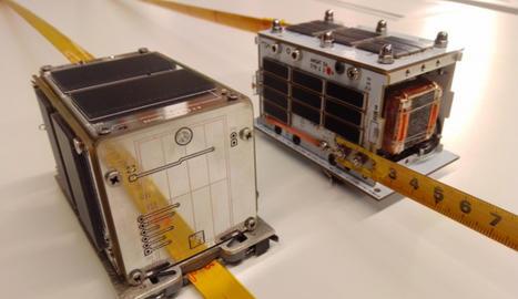 Un mini satèl·lit dissenyat per un institut, en una imatge d'arxiu.