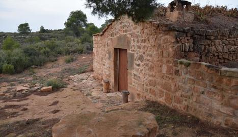 Cabanes de volta convertides en allotjament turístic