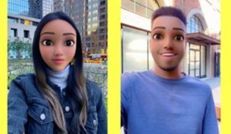 Snapchat llança una nova lent per treure el dibuix animat que portes dins