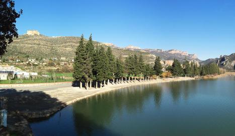 Imatge d'arxiu del pantà de Sant Llorenç.