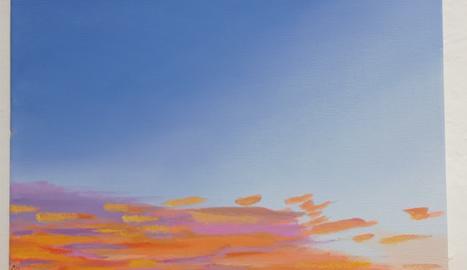 Algunes de les últimes obres del Lucas, inspirades en la naturalesa.