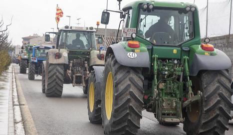 Unió de Pagesos anuncia una nova tractorada per dilluns que ve a tot Catalunya.
