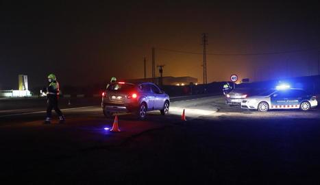 Mossos i policies locals intensificaran els controls de mobilitat durantes les festes.
