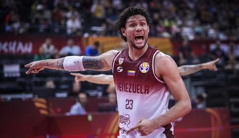 Michael Carrera és un dels líders de la selecció veneçolana.