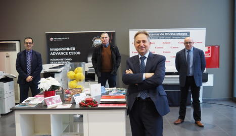 Canon Lleida, empresa líder en tres províncies