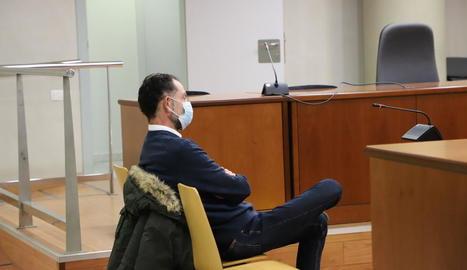 José Antonio Ortiz Cambray, en el judici celebrat el passat 25 de novembre a l'Audiència de Lleida.