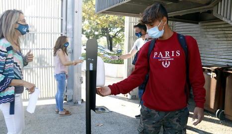 Els centres educatius apliquen mesures de prevenció anti-Covid.