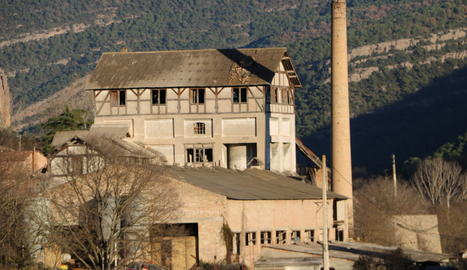 Imatge actual de la fàbrica.