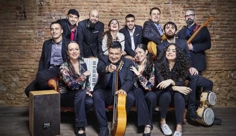 Sabor de Gràcia, un dels grups del festival Tradicionàrius.