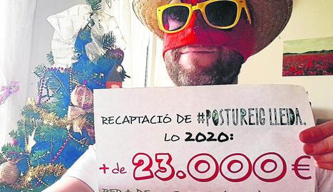 Postureig Lleida recapta més de 23.000 euros per a finalitats solidàries